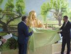 Депутати «батьківщинівці» з Одещини встановили в Молдові пам'ятник Тарасові Шевченку