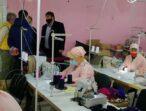 Підприємство «батьківщинівця» виготовляє захисні маски в Лиманському районі