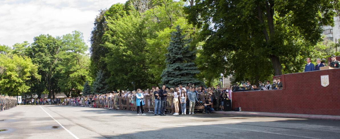 Олег Радковський привітав випускників Військової академії Одеси