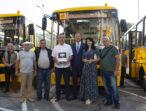 Громади Одещини отримали нові шкільні автобуси за рахунок обласного та місцевих бюджетів